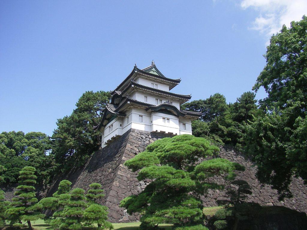 พระราชวังอิมพีเรียลในโตเกียว ประเทศญี่ปุ่น ซึ่งยกเว้นการขอวีซ่าสำหรับคนไทย